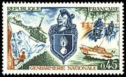 Gendarmerie_Timbre_France
