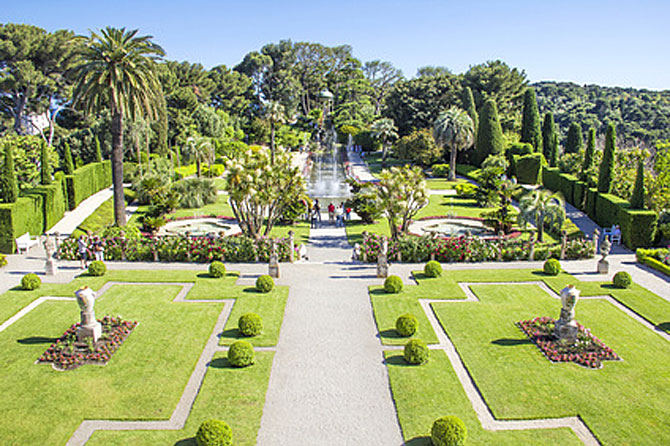 Parcs et jardins des alpes maritimes 06 provence 7 for Le jardin cannes