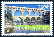 Pont_du_Gard_timbre_France