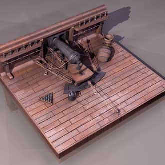 Maquette-Canon-embarqué
