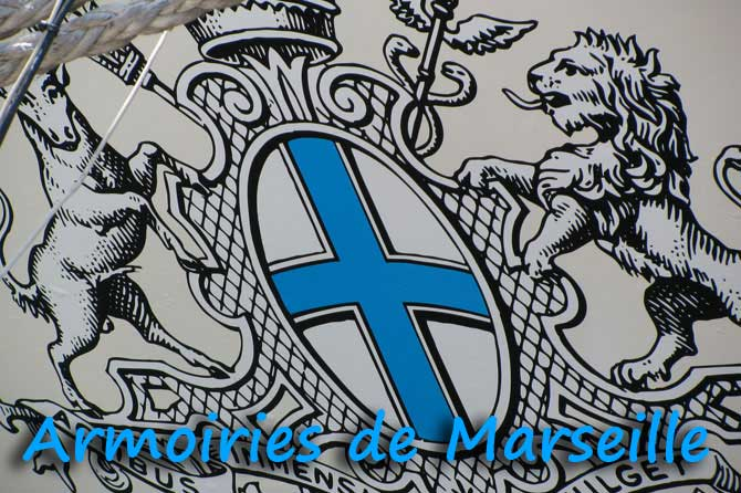drapeau armoiries logo identit de marseille provence 7. Black Bedroom Furniture Sets. Home Design Ideas