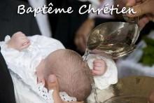 Baptême-Chrétien