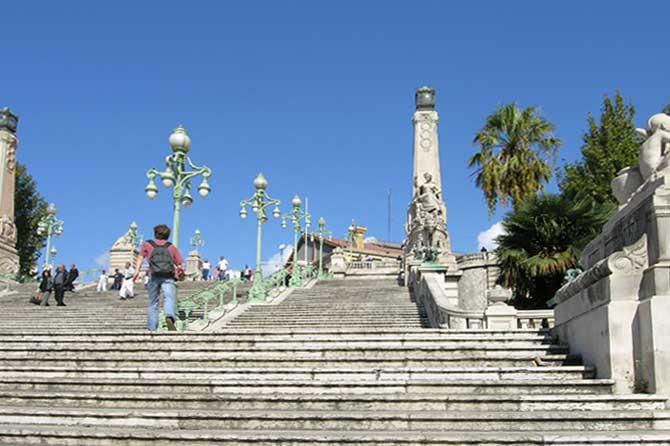 Escalier de la gare de marseille saint charles provence 7 for Escalier helicoidale marseille