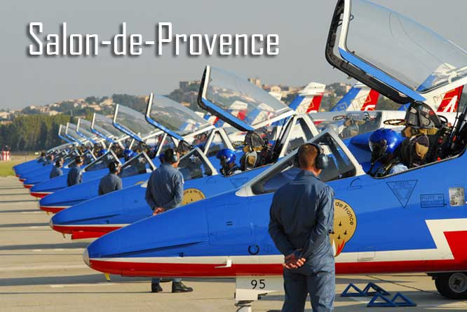 Patrouille de france en provence provence 7 for Formation salon de provence