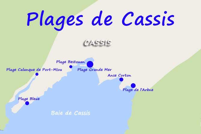 Ville Cassis Carte