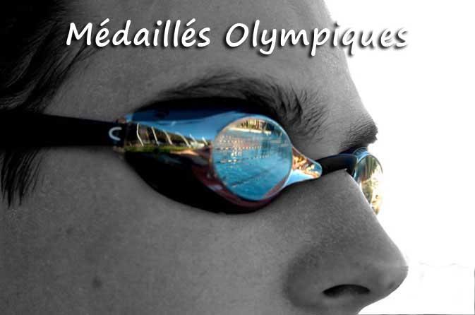 Médaillés-Natation-J.O.