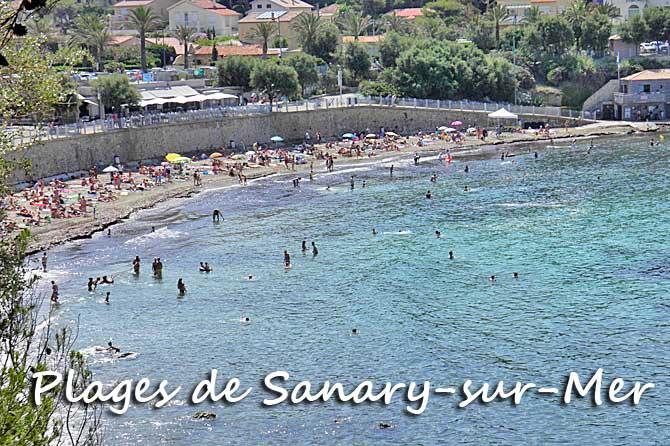 Plages de sanary sur mer visiter provence 7 - Plage la plus proche de salon de provence ...
