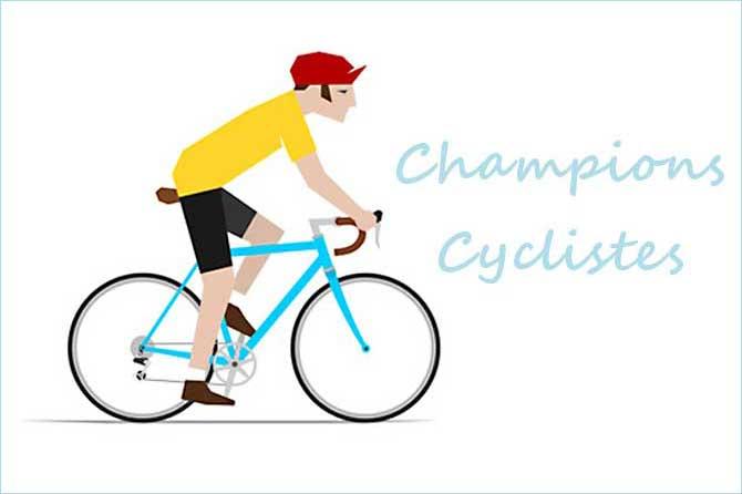 Cycliste Image célébrités du cyclisme en provence | provence 7