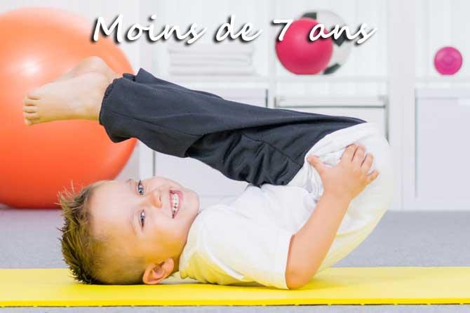 Enfants de moins de 7 ans en Provence