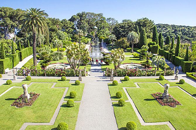 Parcs et jardins des alpes maritimes 06 provence 7 for Jardin villa arson nice