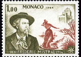 Timbre-Frédéric-Mistral-2