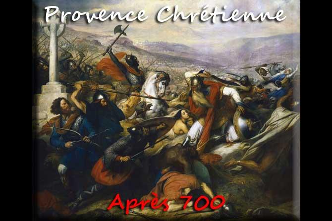Siècles après 700 en Provence Chrétienne
