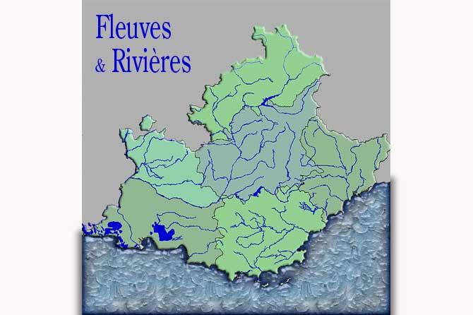 Liste des fleuves et rivières de Provence | Provence 7