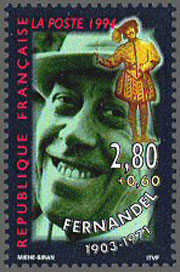 Fernandel_Timbre_France
