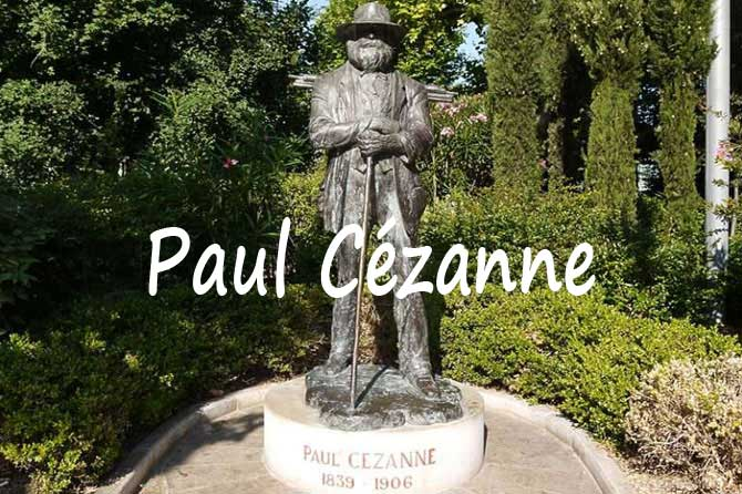 """"""" La Vie de Peintres Célèbres en Vidéo """" Paul_cezanne_1B-Statue"""