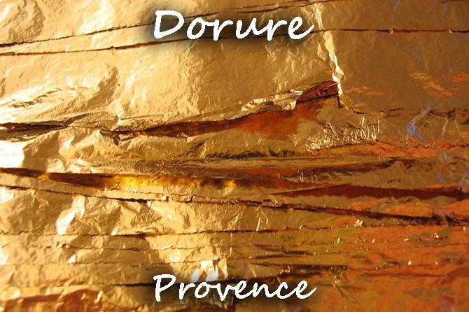 Métiers de la Dorure en Provence