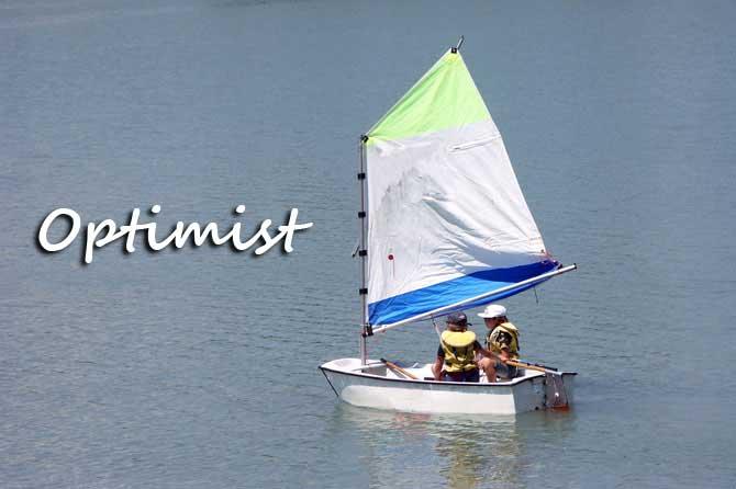 bateau optimiste