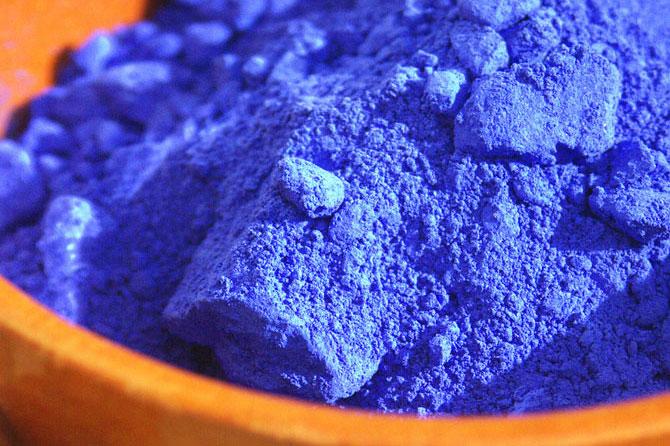 Pigments Bleus en Provence