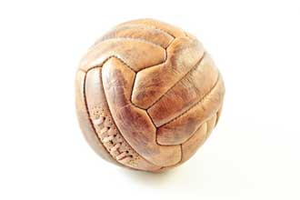 Vieux-ballon-footaball-Foto