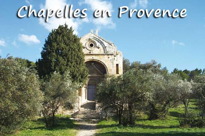 Liste des Chapelles en Provence