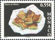 Gastronomie_Monaco_Timbre_M