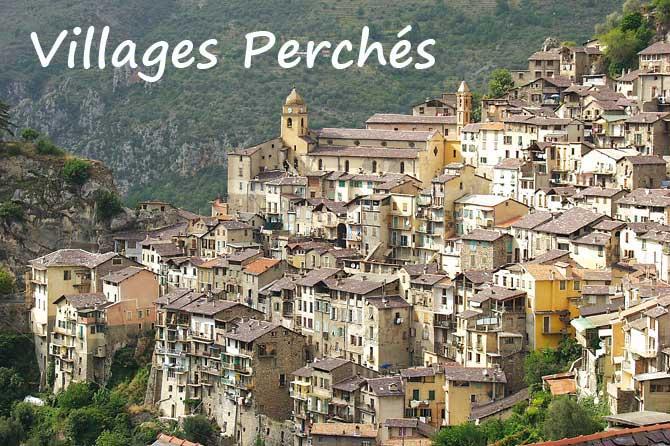 Liste des Villages Perchés de Provence