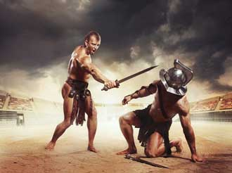 Gladiateurs-Fotolia_6366987