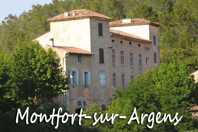 Montfort-sur-Argens à visiter (83)
