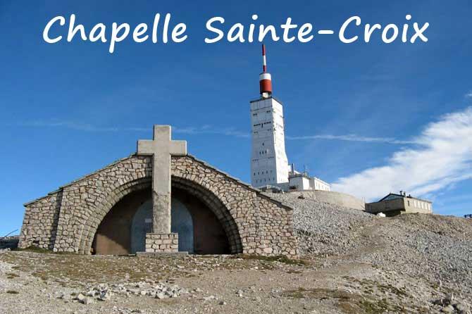 Chapelle Sainte-Croix du Mont-Ventoux (84)