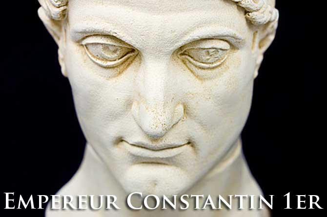 Empereur Constantin 1er le Grand