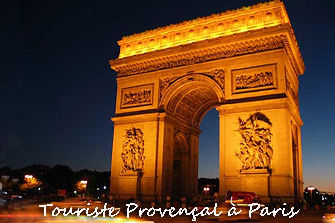 Guide pour un touriste provençal à Paris
