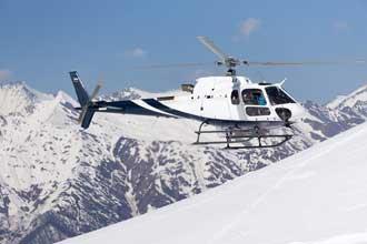 Hélicoptère-Secours-en-Mont