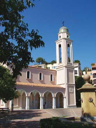 Monaco-Eglise-Fontvieille