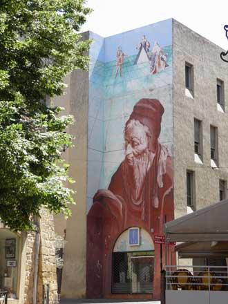 Nostradamus-Mur