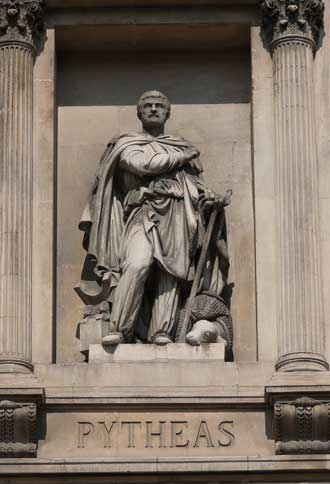 Pythéas-Statue