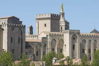 Avignon-Palais-Papes-Verlin