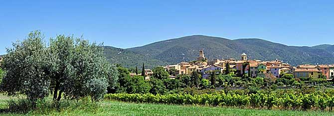 Lourmarin-Panorama