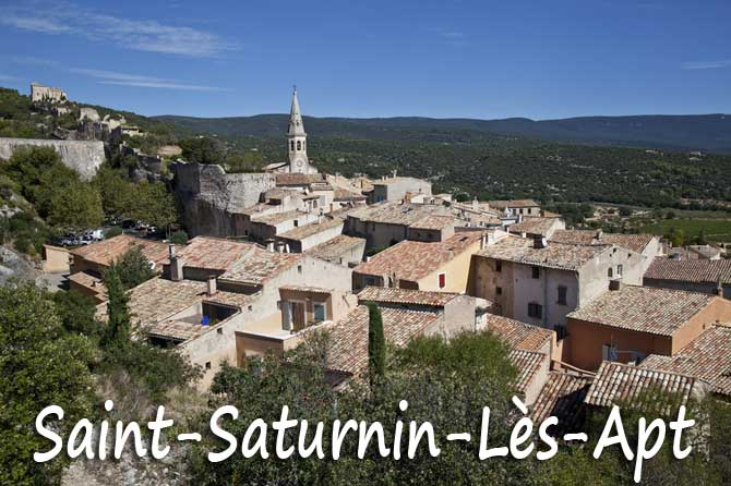 Saint saturnin les apt tourisme