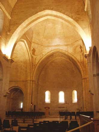 Senanque-Choeur-Eglise
