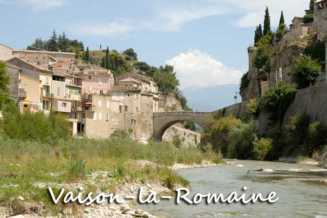 Vaison la romaine visiter 84 provence 7 - Office du tourisme de vaison la romaine ...