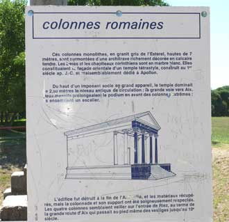 Riez-Colonnnes-Romaines-Ver