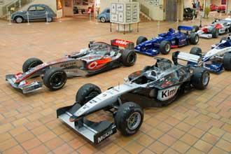 Voitures-F1-Musée