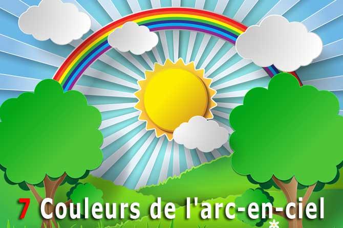7 couleurs de l'arc-en-ciel | Provence 7