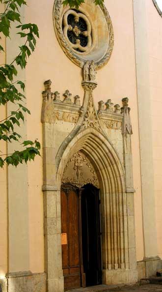 Roquebrune-sur-Argens.-Egl.
