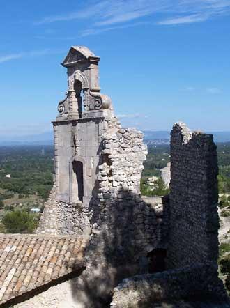 Eygalieres-ruines-St-Lauren
