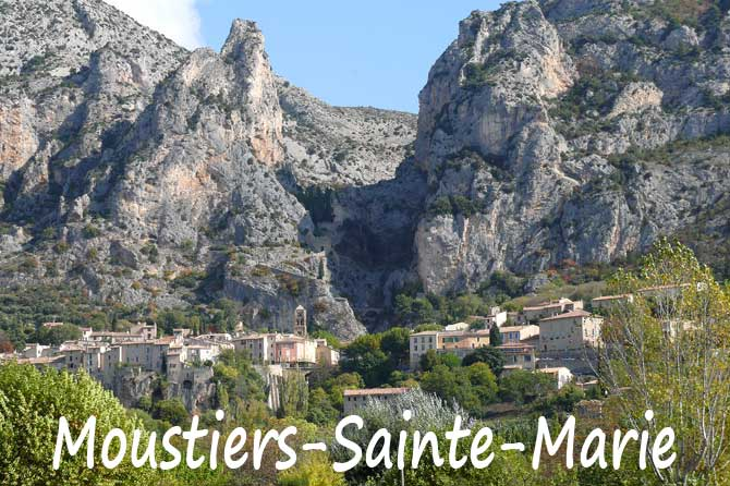 Moustiers saintes maries visiter 04 provence 7 - Office tourisme moustiers sainte marie ...
