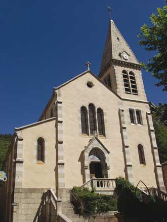 Castellane.-Eglise.-P.-Verl