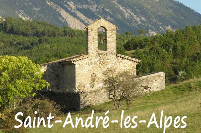 Saint andr les alpes visiter 04 provence 7 - Office de tourisme saint andre les alpes ...