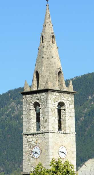 Sint-André-les-Alpes.-Cloch