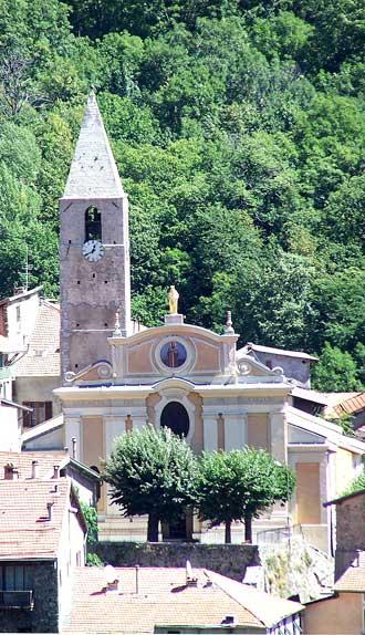 St-Martin-Vesubie.-Eglise.-